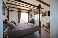 Finca de luxe ensoleillée avec des vues fantastiques sur les montagnes a Benidoleig - Chambre double