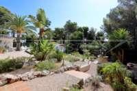 Mediterrane Wohlfühloase in Javea Balcón al Mar - Angelegter Garten
