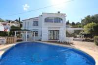 Bonita villa con piscina y vistas al valle de Orba - Villa en Orba