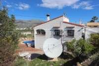 Bonita villa con piscina y vistas al valle de Orba - Chalet con vistas en Orba