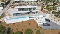 Excepcional villa de lujo moderna a estrenar con impresionantes vistas en Benissa - Obra nueva en Benissa