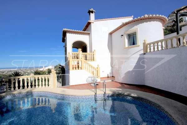 Attraktive 3 SZ Villa in herrlicher Aussichtslage am Monte Solana in Pedreguer, 03750 Pedreguer (Spanien), Villa