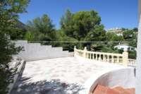Attraktive 3 SZ Villa in herrlicher Aussichtslage am Monte Solana in Pedreguer - Terrasse