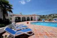 Exclusiva propiedad de lujo en ubicación privilegiada de Denia con impresionantes vistas - Amplias zonas de descanso