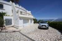 Exclusiva propiedad de lujo en ubicación privilegiada de Denia con impresionantes vistas - Garaje doble
