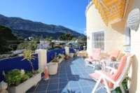 Spacieuse villa avec critère de bien-être indéniable et vue imprenable sur le Montgo à Denia - Terrasse