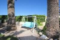 3 Schlafzimmer Villa auf großem Grundstück in ruhiger Ortsrandlage von Els Poblets - Hollywood Schaukel