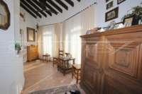 3 Schlafzimmer Villa auf großem Grundstück in ruhiger Ortsrandlage von Els Poblets - Verglaste Terrasse