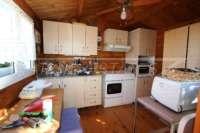 3 Schlafzimmer Villa auf großem Grundstück in ruhiger Ortsrandlage von Els Poblets - Sommerküche