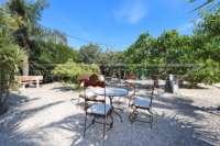 Pompöse Finca zwischen Palmen und Orangenhainen in Ondara - Mediterraner Garten