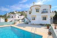 Top gepflegte Villa mit separatem Apartment, Pool und Sonne pur in Rafol d'Almunia - Villa in Rafol de Almunia