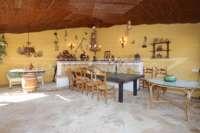 Finca clásica mediterránea en una ubicación privilegiada en Denia - Terraza cubierta