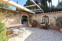 Finca clásica mediterránea en una ubicación privilegiada en Denia - Terraza de verano