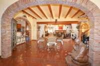 Finca clásica mediterránea en una ubicación privilegiada en Denia - Sala de estar