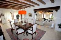 Villa pleine de charme à Monte Pego sur un terrain privé avec une vue fantastique - Salon / salle à manger