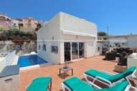 Moderna villa con vistas panorámicas en Sanet & Negrals - Casa en Sanet & Negrals