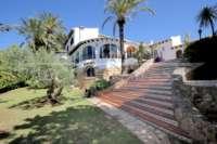 Mediterrane Villa auf privatem Grundstück mit traumhaftem Blick am Monte Pego - Mediterrane Villa