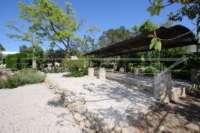 Mediterrane Villa auf privatem Grundstück mit traumhaftem Blick am Monte Pego - Boccia Bahn