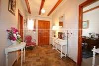 Finca espaciosa con impresionantes vistas al Peñon de Ifach en Benissa - Hall de entrada