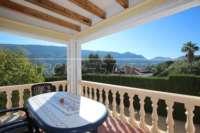 Top gepflegte Villa in herrlicher Südlage in Pedreguer - Überdachte Terrasse