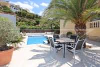 Villa haut de gamme sur le Monte Solana à Pedreguer - terrasse piscine