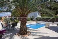 Villa haut de gamme sur le Monte Solana à Pedreguer - palmier