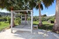 Moderna finca como nueva de estilo mediterráneo en Benidoleig - Relax bajo las palmeras