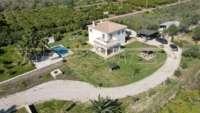 Moderna finca como nueva de estilo mediterráneo en Benidoleig - Finca en naturaleza