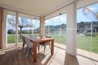 Moderna finca como nueva de estilo mediterráneo en Benidoleig - Jardín de invierno