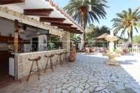 Klassisch mediterranes Finca Anwesen in Top Lage von Denia - Außenküche