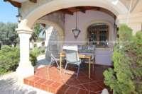 Klassisch mediterranes Finca Anwesen in Top Lage von Denia - Überdachte Terrasse