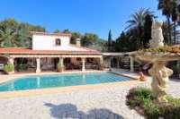 Klassisch mediterranes Finca Anwesen in Top Lage von Denia - Mediterrane Finca in Denia