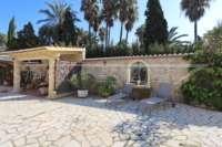 Klassisch mediterranes Finca Anwesen in Top Lage von Denia - Terrasse