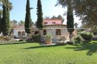 Klassisch mediterranes Finca Anwesen in Top Lage von Denia - Außenfassade