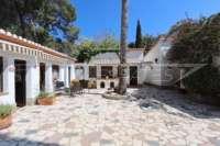 Klassisch mediterranes Finca Anwesen in Top Lage von Denia - Außenbereich