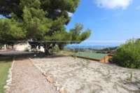 Moderne Finca auf pflegeleichtem Grundstück in bester Panoramalage in Benimeli - Schöner Blick