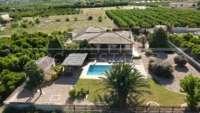 Villa de campagne <> espagnole avec maison d'hôtes à Benidoleig - Finca à Benidoleig