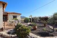 Villa de campagne <> espagnole avec maison d'hôtes à Benidoleig - Jardin peu d'entretien