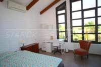 Bonito chalet de estilo casa de campo con piscina en urbanización exclusiva en Javea - Dormitorio