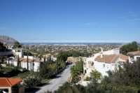 Chalet de 3 dormitorios en una bonita posicion panoramica en Monte Solana en Pedreguer - Vistas al mar