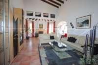 Villa bien entretenue avec 2 chambres dans la meilleure position panoramique sur le Monte Pego - Salon