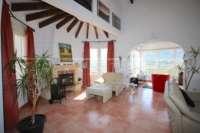 Villa bien entretenue avec 2 chambres dans la meilleure position panoramique sur le Monte Pego - cheminée