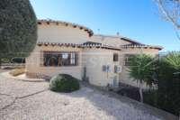 Spacieuse villa avec un confort de vie pur et une vue imprenable sur la mer sur Monte Pego - Maison Monte Pego