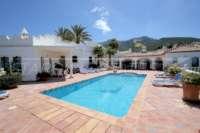 Exklusives Luxusanwesen in bester Wohnlage von Denia mit atemberaubendem Blick - Poolterrasse