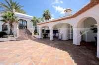 Exklusives Luxusanwesen in bester Wohnlage von Denia mit atemberaubendem Blick - Pompöser Eingang