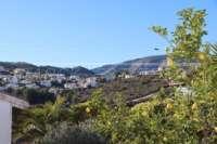 Villa soleada de 3 dormitorios en una zona tranquila con vistas a las montañas en Monte Pego - Vistas a la montaña