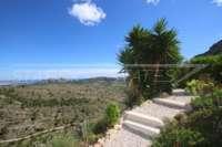 Nouvelle maison mitoyenne dans la meilleure position panoramique sur le Monte Pedreguer - Jardin communautaire
