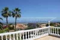 Villa de luxe privée dans un emplacement privilégié de Denia avec une vue imprenable sur la côte - Panoramablick