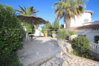 Imponente chalet con vistas al mar y habitación de invitados en Denia - Galeretes - Terraza