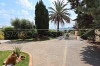 Villa de estilo mediterráneo con piscina en Beniarbeig - Jardín de bajo mantenimiento